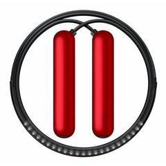 Умная скакалка Smart Rope Bluetooth. Размер L, 274 см. (на рост 178 - 188 см), красный