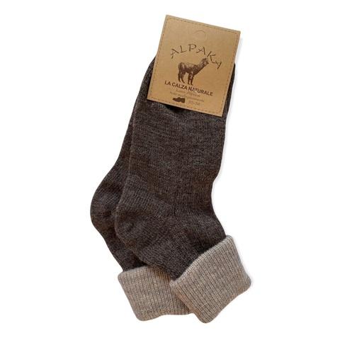 Носки 100% шерсть, коричневый, Италия
