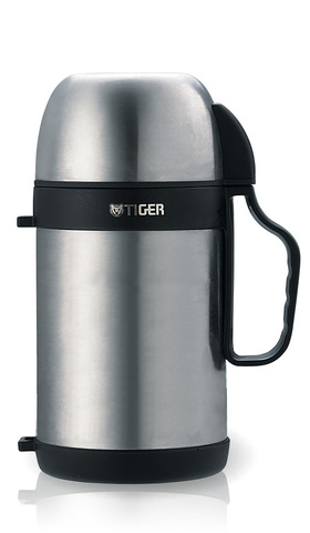 Термос универсальный (для еды и напитков) Tiger MCW-P (0,7 литра), стальной