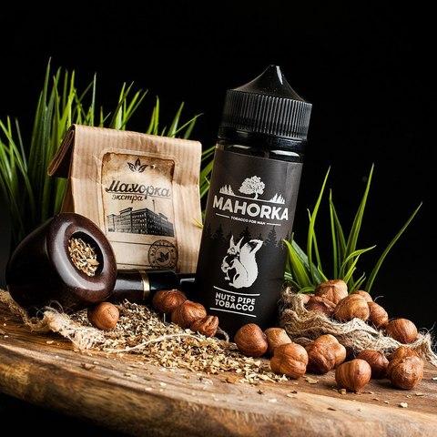 Жидкость Mahorka 120 мл Nuts Pipe Tobacco