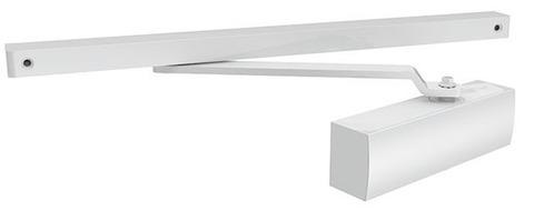 Доводчик дверной Armadillo (Армадилло) со скользящей тягой DCS-85 (белый)
