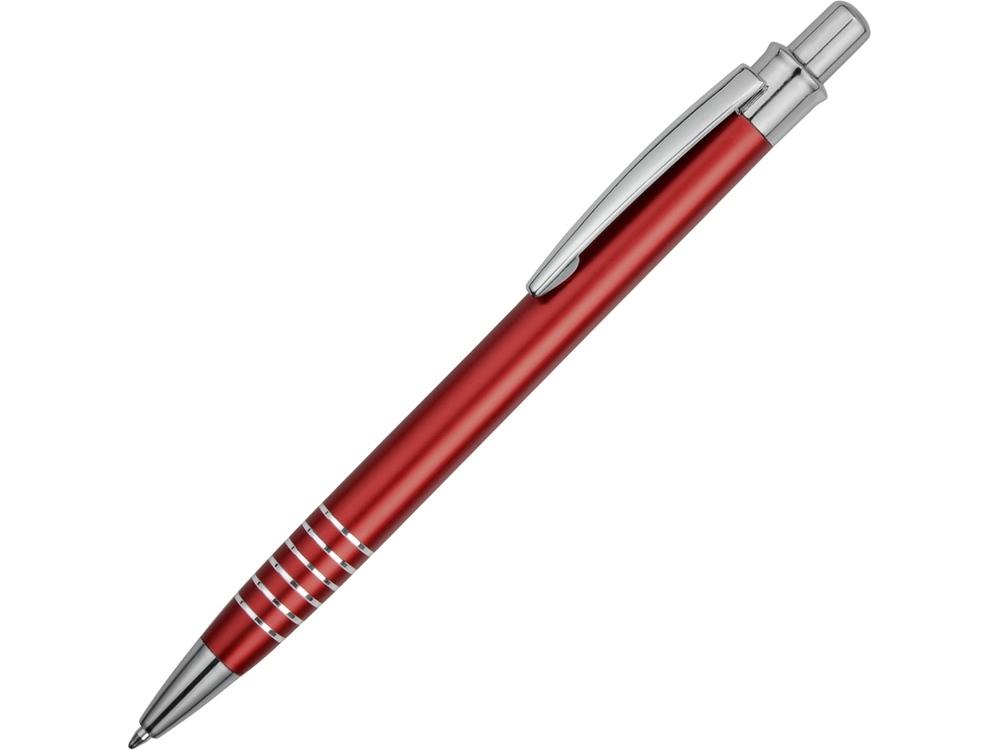 Ручка металлическая Бремен красная
