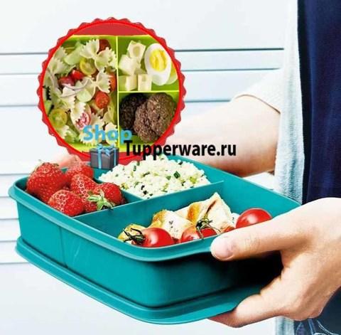 здоровый перекус контейнер 1л.