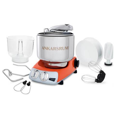 Тестомесильная машина для дома-миксер Ankarsrum AKM6230 Pure Orange, фото