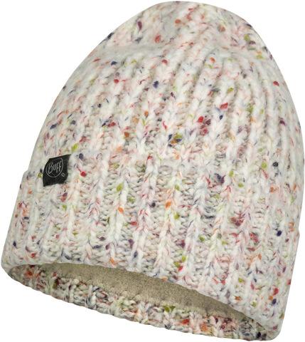Шапка вязаная с флисом Buff Hat Knitted Polar Kim White фото 1