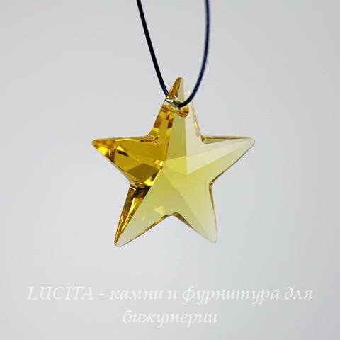 6714 Подвеска Сваровски Звезда Light Topaz (20 мм) ()