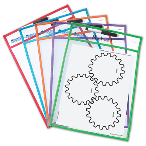 LER0477 Папка для занятий Пиши и стирай Learning Resources