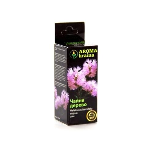 Масло чайного дерева 10мл. Aroma Kraina