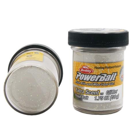 Форелевая паста Berkley - STBGW (1004944) Extra Scent Glitter цвет белый