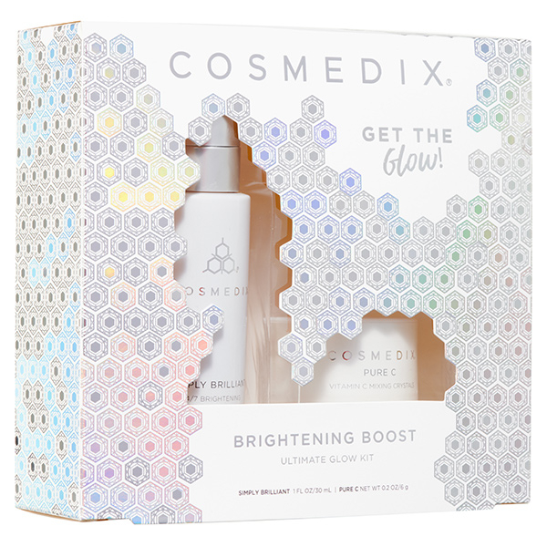 Набор Cosmedix Brightening Boost Ultimate Glow Kit