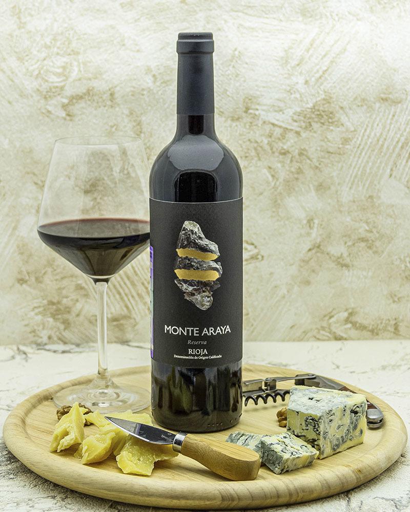 Вино Bodegas Del Medievo Монте Арайя Резерва Красное сухое 2014 г.у. 13,5% 0,75 л.
