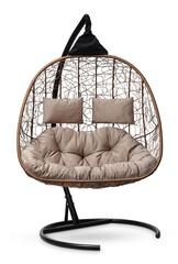Подвесное кресло для двоих SEVILLA TWIN горячий шоколад