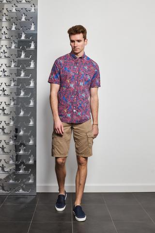 LERROS Рубашка в растительный принт