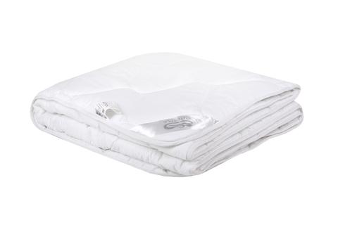 Одеяло  искусственный  лебяжий пух  в сатине всесезоннее.