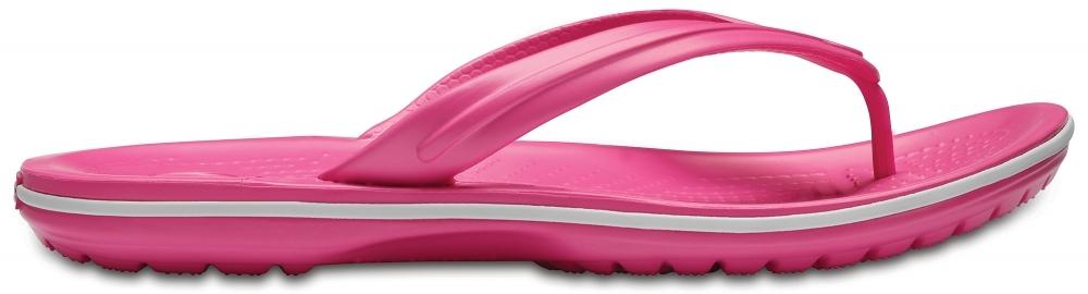 Обувь для взрослых CROCS Crocband™ Флип Пэрэдайз Пинк/Вайт