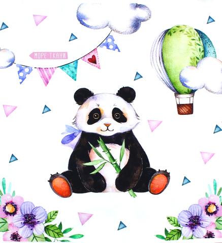 Панель(купон) панда-35*35 см, 4 шт.