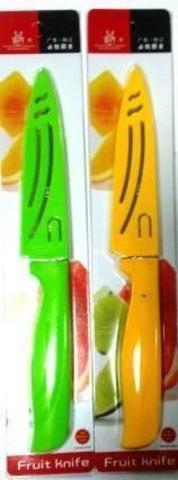 Нож BS-667 метал.в чехле фруктовый