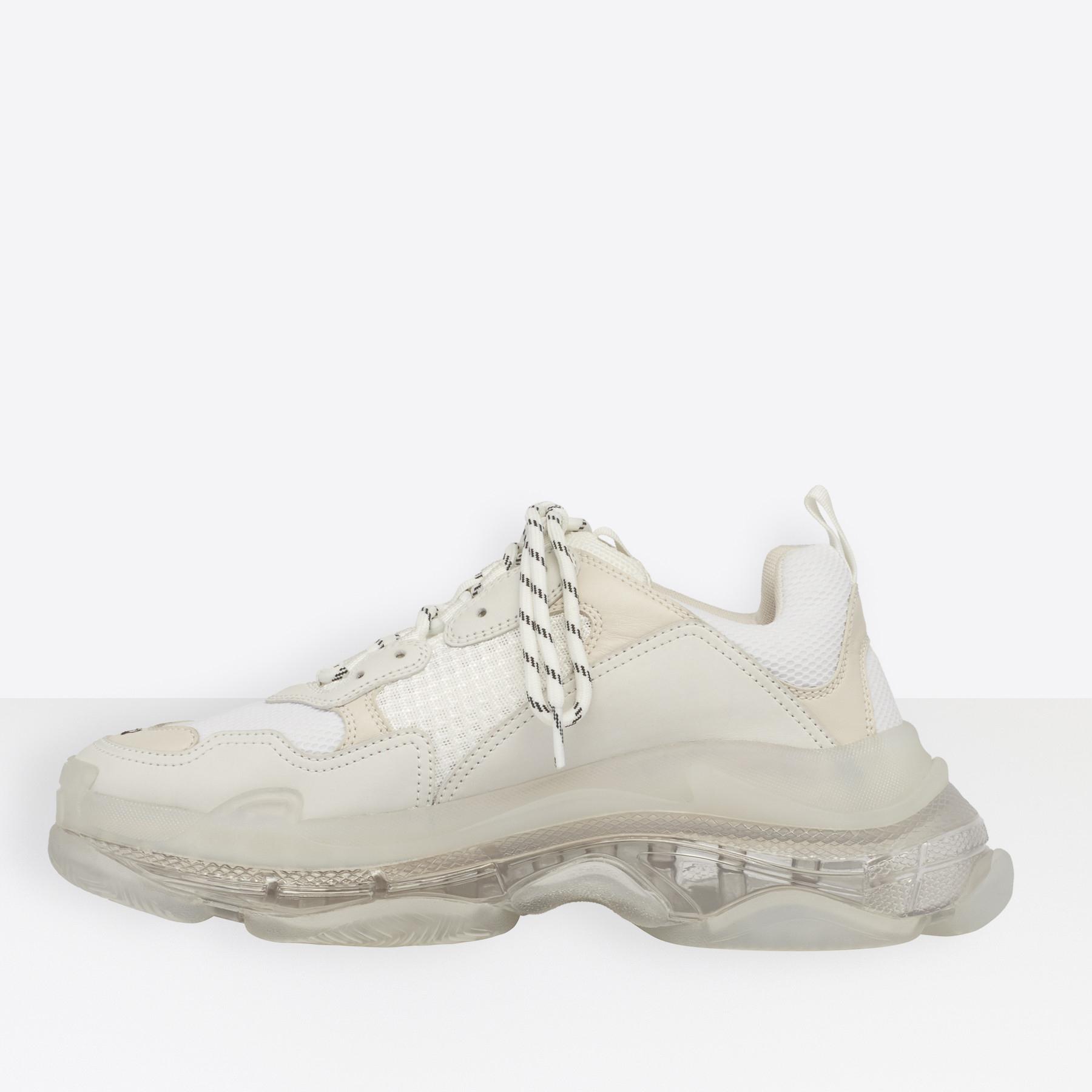 Balenciaga Triple S White/Trn
