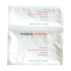 Детоксицирующая моделирующая гидрогель-маска Detoxifying Gel Mask, INSPIRA ABSOLUE, 50 гр