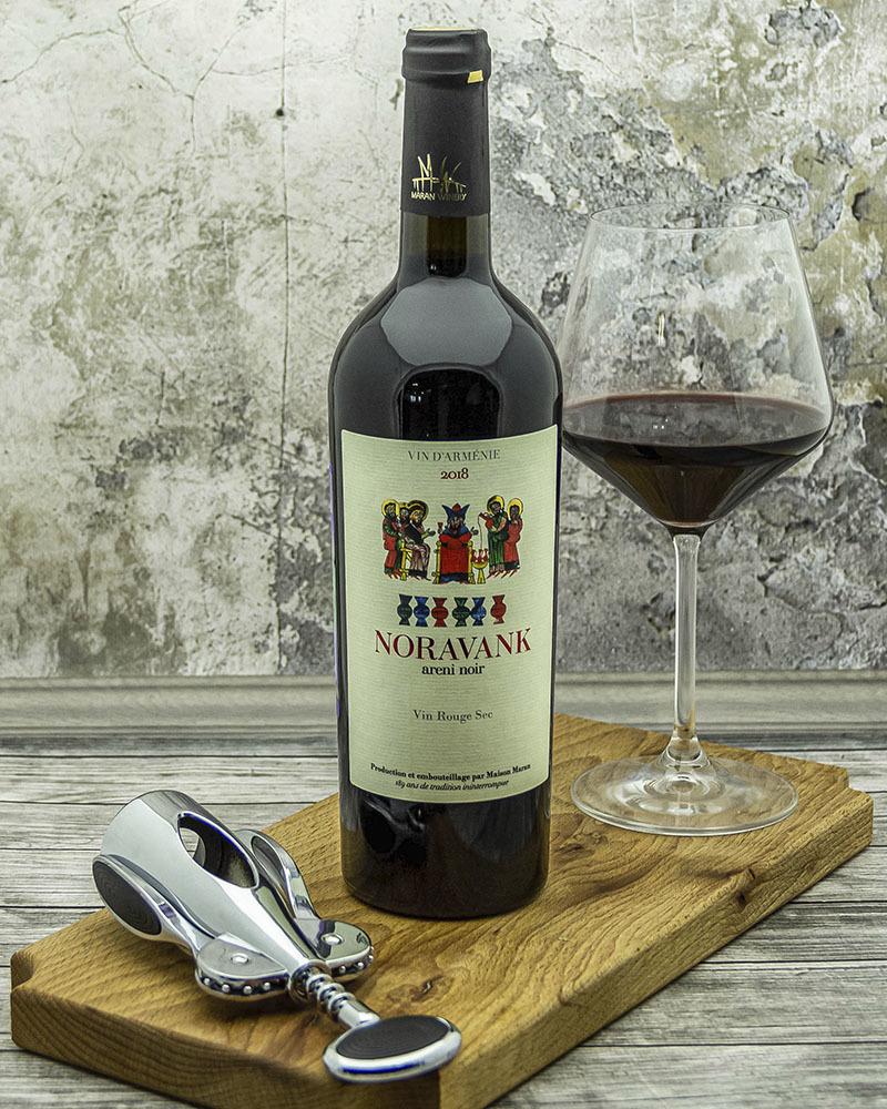 Вино Maran Winery Нораванк Красное Сухое 2018 г.у. 14% 0,75 л.