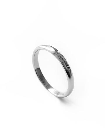 Серебряное узкое кольцо 2мм