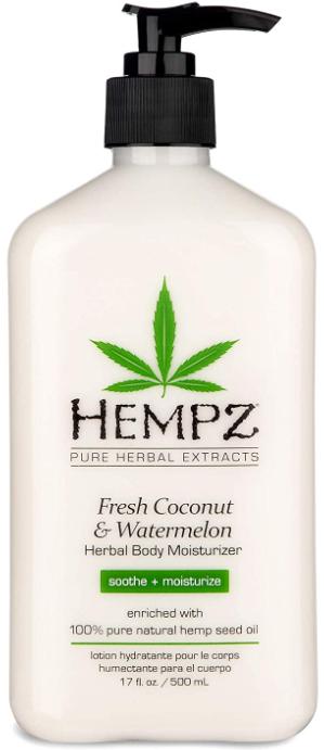 Hempz Fresh Coconut & Watermelon Herbal Body Moisturiser молочко для тела 500мл