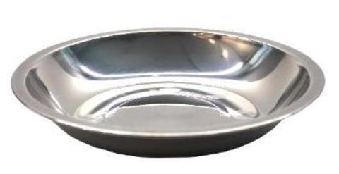 Тарелка, диаметр: 18 см, нерж. сталь, (ДК-530), «Дружба»