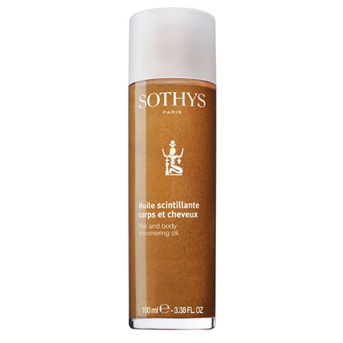 Sothys Repairing Sun Care: Мерцающее масло для тела и волос (Hair And Body Shimmering Oil)
