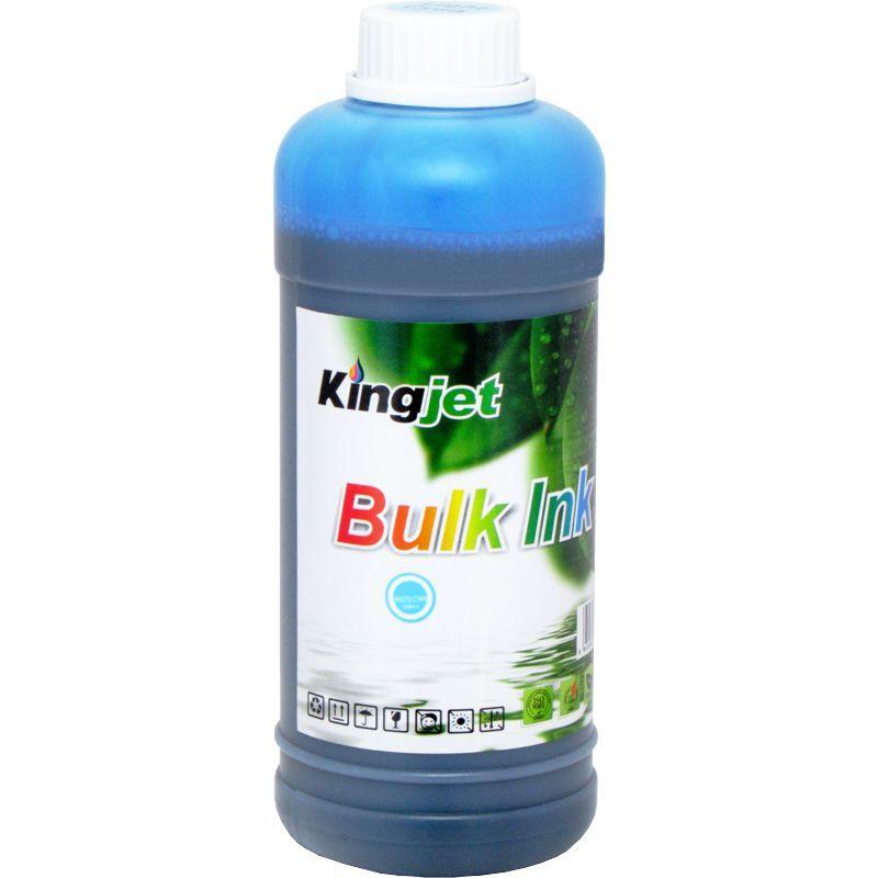 Чернила Водорастворимые KingJet@ Epson Universal Dye Ink CJDU002.500LC 500мл., светло-голубой (Light Cyan), на водной основе.