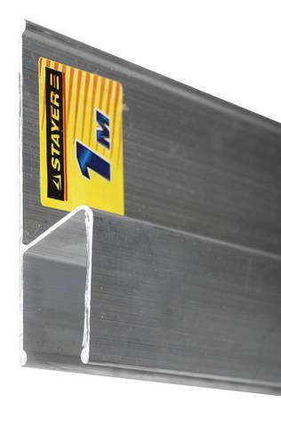 Правило для финишной отделки FINISH, 2 м, STAYER Professional 10745-2.0