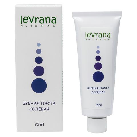 Levrana, Зубная паста солевая, 75мл