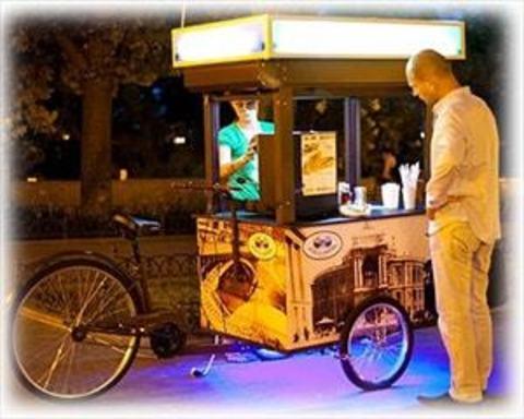 Велосипеди для вуличної торгівлі