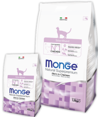 Сухой корм Monge Cat Adult Sterilised