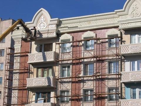 Комплексный ремонт фасадов зданий (штукатурка, окраска, гидроизоляция и т.д.)