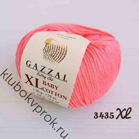 GAZZAL BABY COTTON XL 3435XL, Розовый коралл