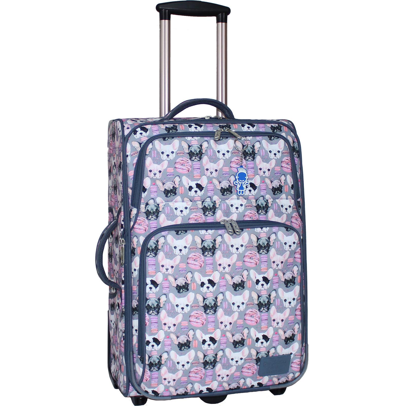 Дорожные чемоданы Чемодан Bagland Леон средний дизайн 51 л. сублімація 144 (0037666244) IMG_8418_арт144_.JPG