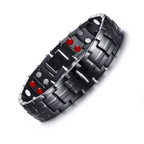 Стальной магнитный браслет