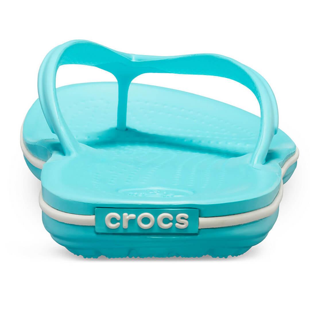 Шлепанцы Crocs Crocband Flip Бирюзовые