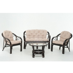 Плетеный комплект мебели из ротанга Vinotti Суматра