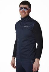 Лыжный разминочный жилет Nordski Motion BlueBerry мужской