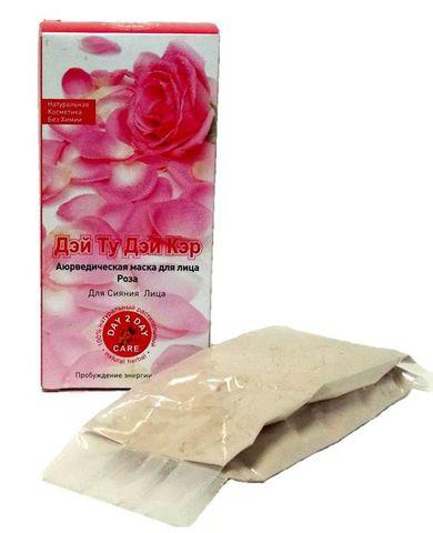Аюрведическая маска для лица Роза D2D