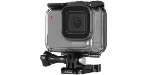 Housing Protective Hero7 White/Silver - Водонепроницаемый бокс для камеры (60м) | ABDIV-001 |