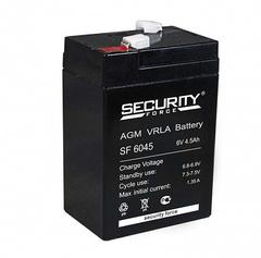 Аккумулятор Security Force 6V/4,5A
