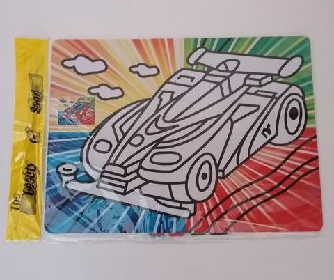 Раскраска песком, формат А4, в ассортименте, 0032
