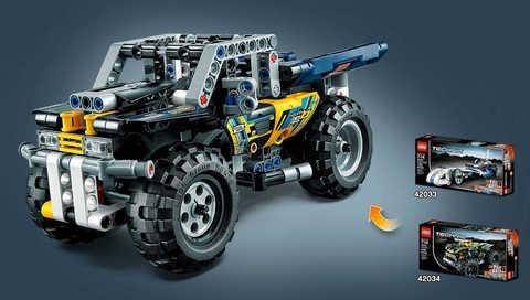 LEGO Technic: Квадроцикл 42034 — Quad Bike — Лего Техник