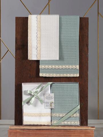 Кухонные полотенца вафельные