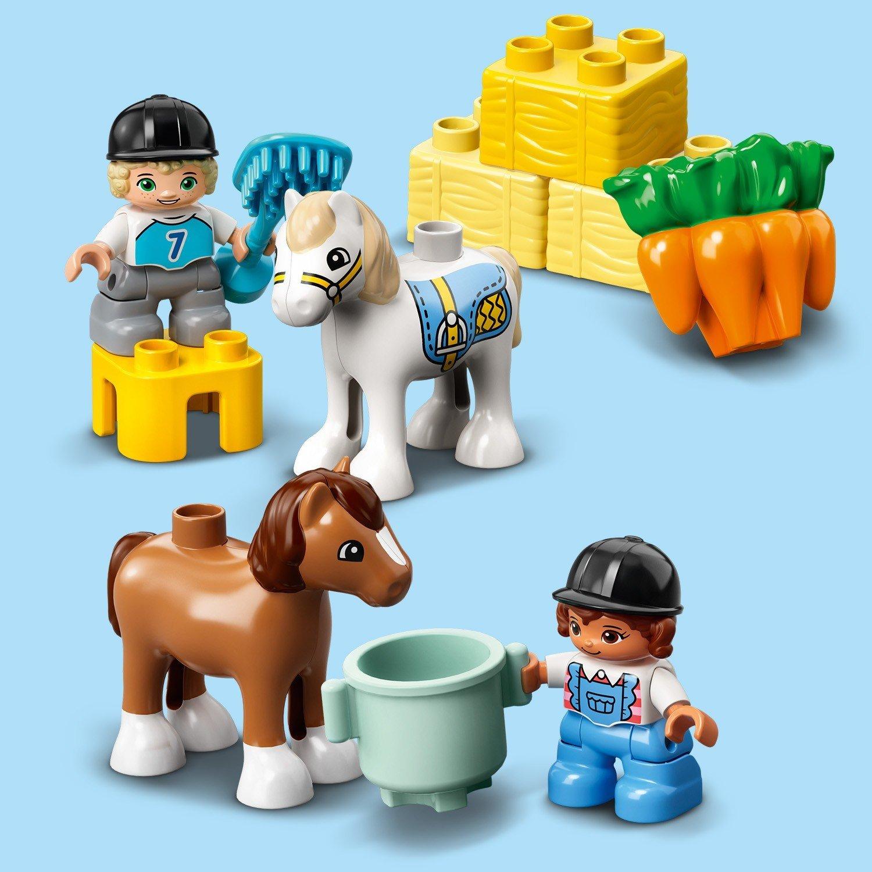 Конструктор LEGO DUPLO 10951 Конюшня для лошади и пони