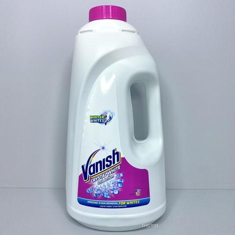 Пятновыводитель и отбеливатель жидкий Vanish Oxi Action для белых тканей 2 л