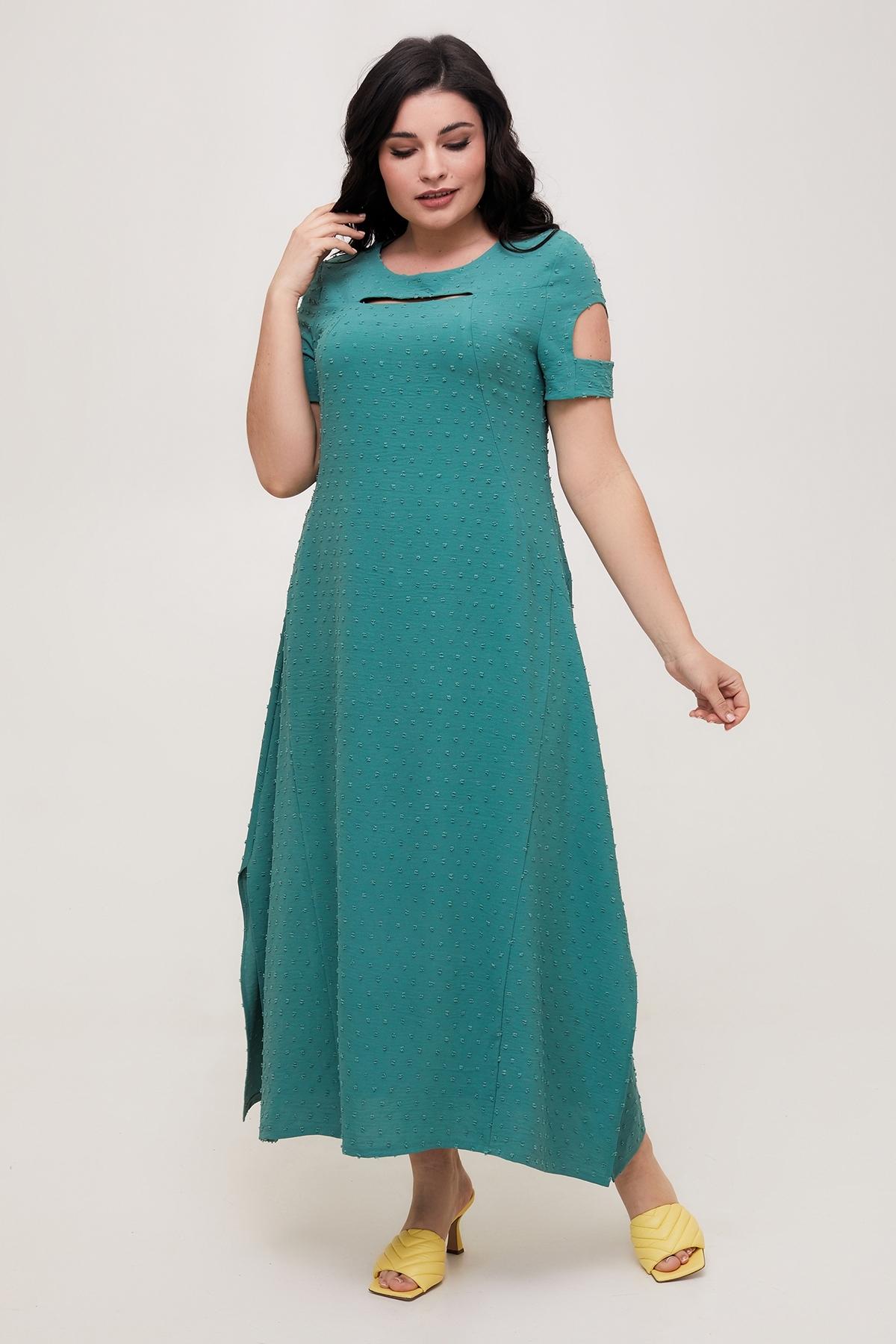 Сукня Лада (бірюза)
