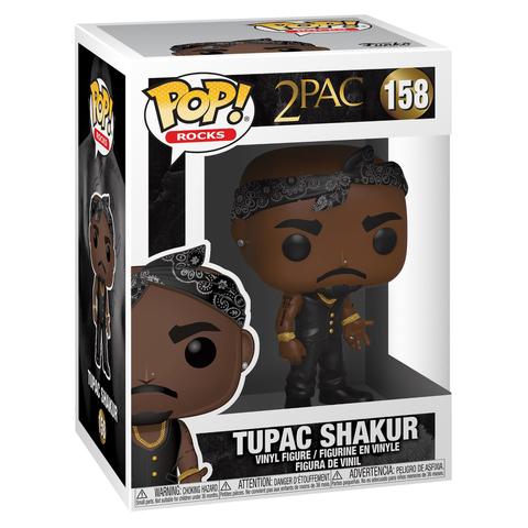 Фигурка Funko POP! Rocks Tupac Vest w/Bandana 45432